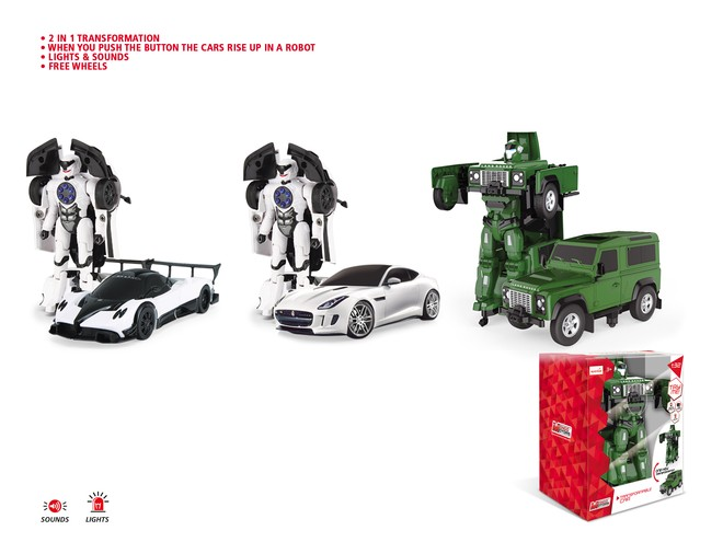 52011 - DIE CAST TRANSFORMABLE - with LIGHTS & SOUND