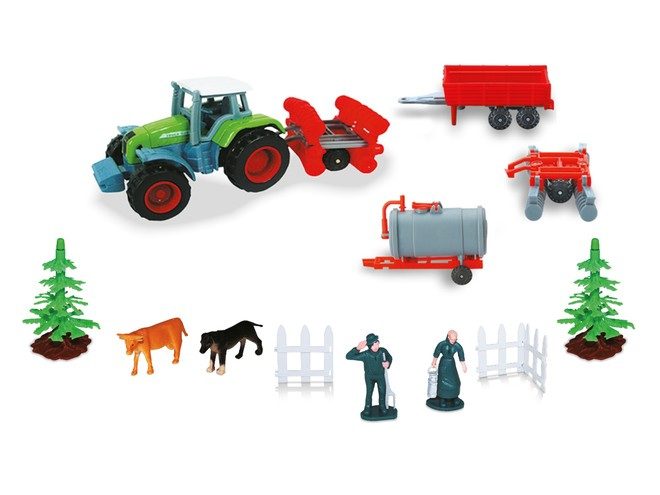 58017 - FARM SET with TRACTOR