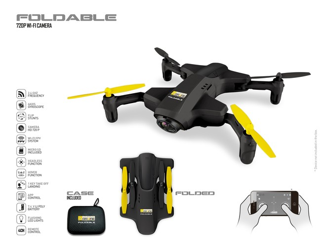 63472 - ULTRADRONE FOLDABLE - BLACK SERIES